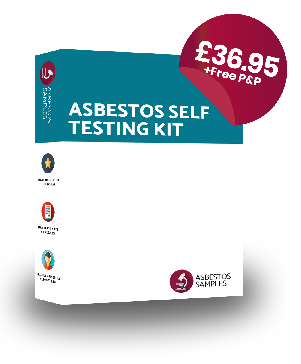 Asbestos testing kits best value in the uk from 3695 asbestos testing kit yadclub Image collections